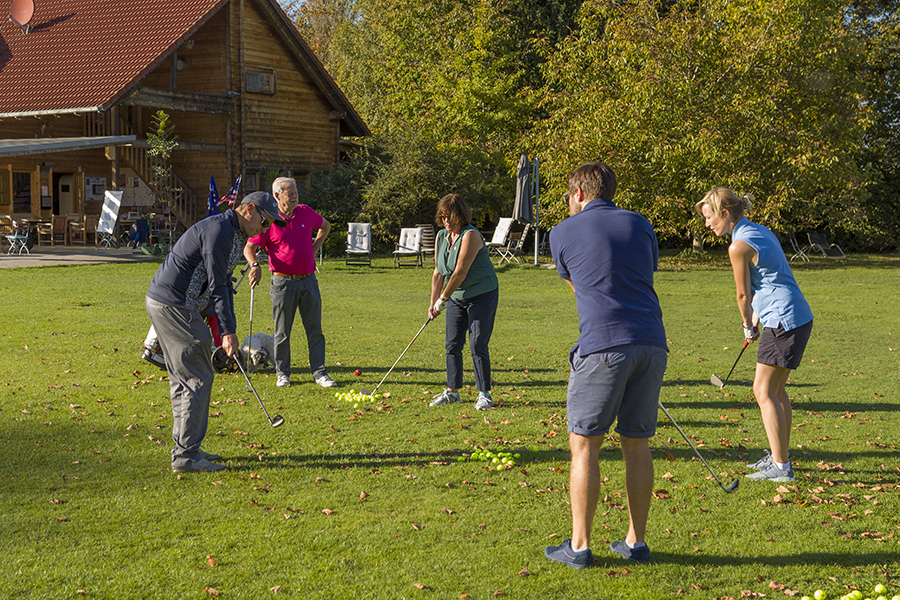 Golftraining Clubtraining