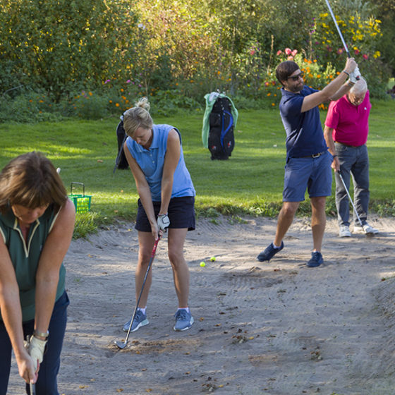 Clubtraining mit Roel Meijs Golfclub München Eicherloh
